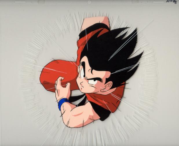 Goku Charging!!!!