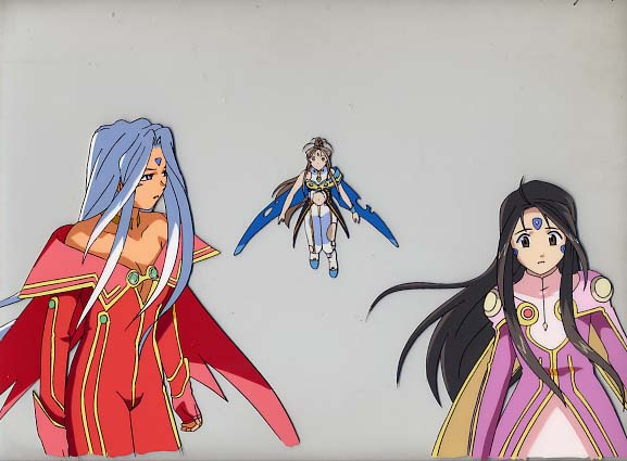 All 3 Goddesses in Battle Outfit!!!!