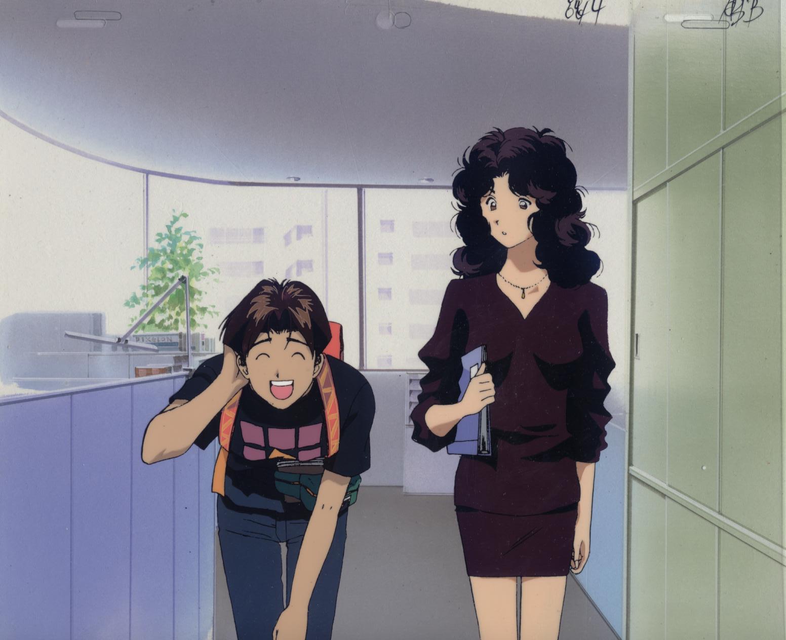 1st Episode Kintaro in Office