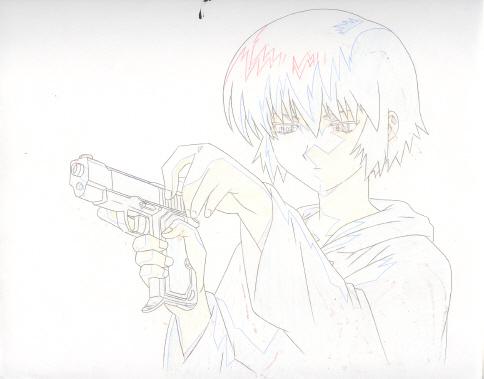KIRIKA W/ GUN!!!!